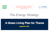Thame Green Living Plan Energy Strategy